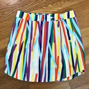🌈Rainbow Striped Kate Spade Saturday Mini Skirt